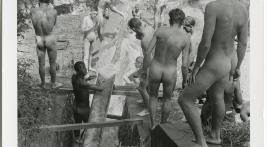Porno gay de la guerra mundial