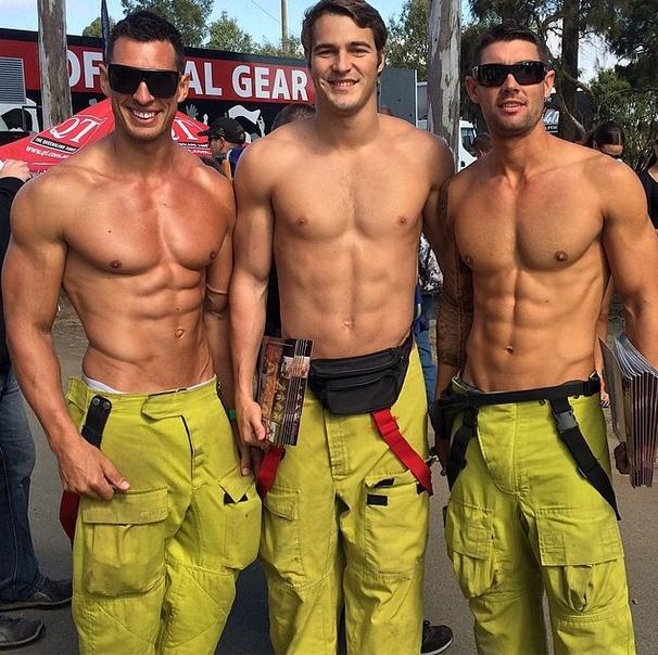 Les pompiers beaux gosses d'Australie dévoilent leur calendrier 2015 ...